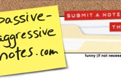 passive aggressive people are little bitches