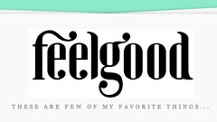 feelgood is a new blog i like